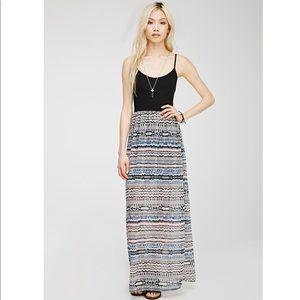 Cute Tribal Maxi Dress